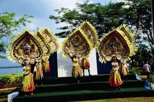 Cultural dance in Kerala
