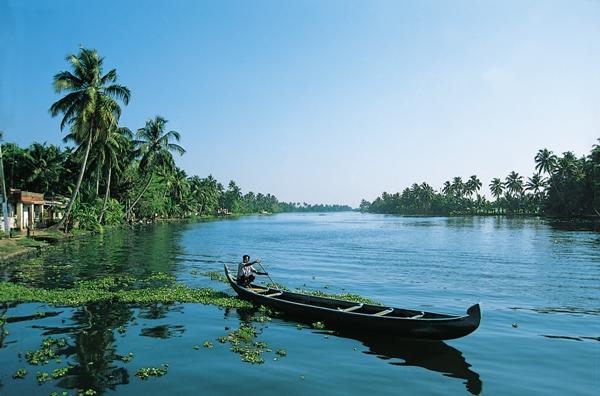 Beautiful Kerala backwaters