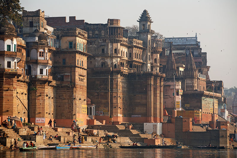 View from the Ganges - Varanasi, India