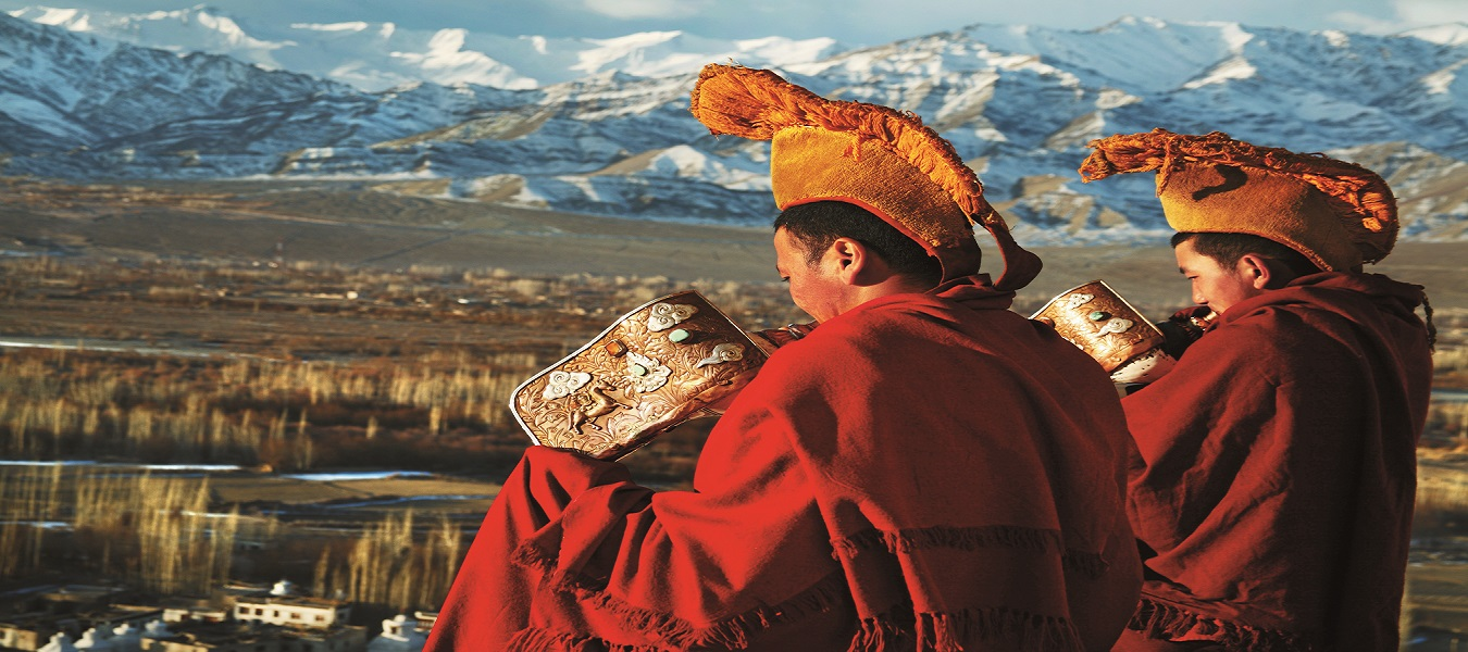 Monks in Leh Ladakh